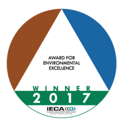 IECA Aust Environmental Excellence Award 2017 - WINNER announced