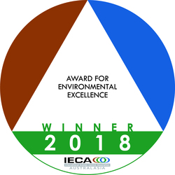 2018 WINNER - Environmental Excellence Awards