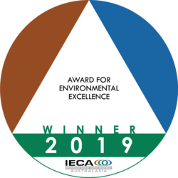 2019 - Environmental Excellence Award WINNER